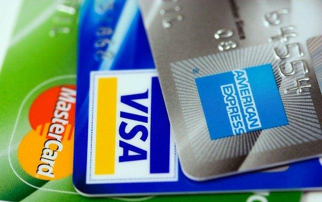 MasterCard, VISA, and American Express